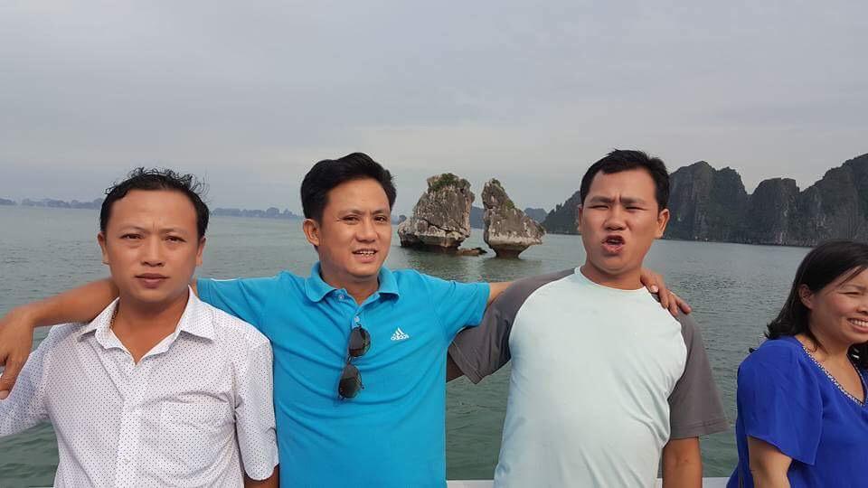 Ảnh Bùi Văn Trúc và 2 người anh em