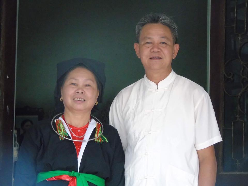 Bố, Mẹ vợ của Bùi Văn Trúc