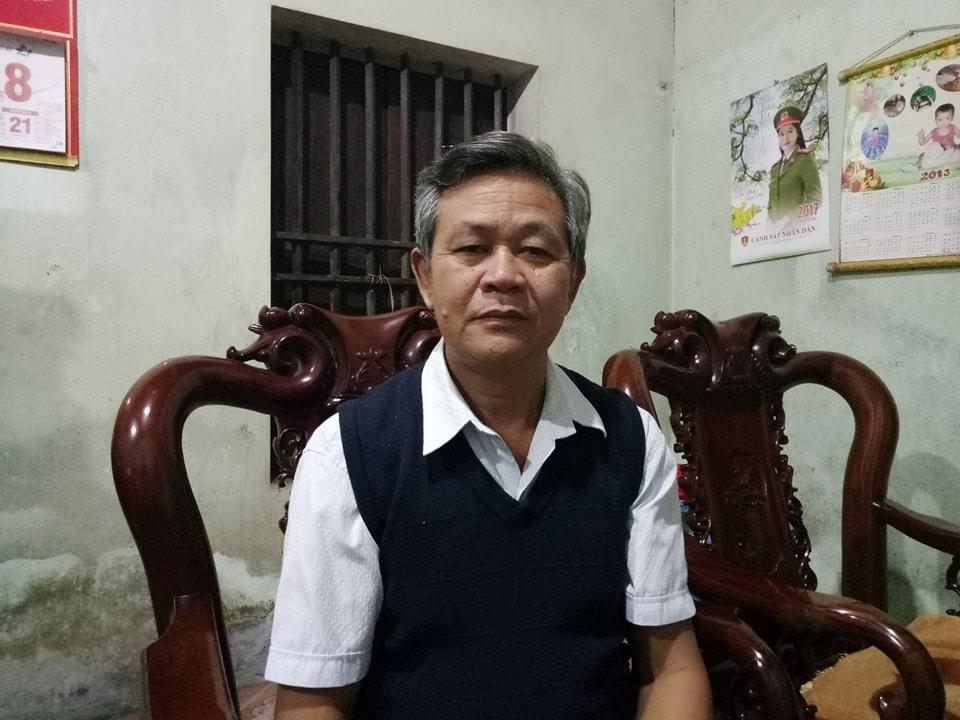 Bố vợ của Bùi Văn Trúc