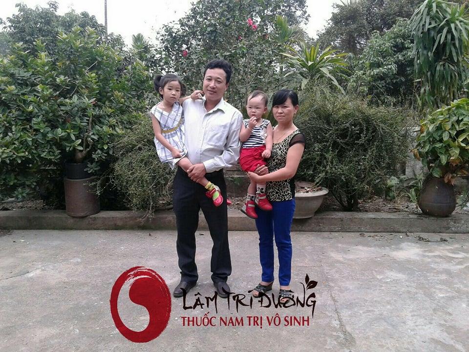 Gia đình chị vợ của Bùi Văn Trúc