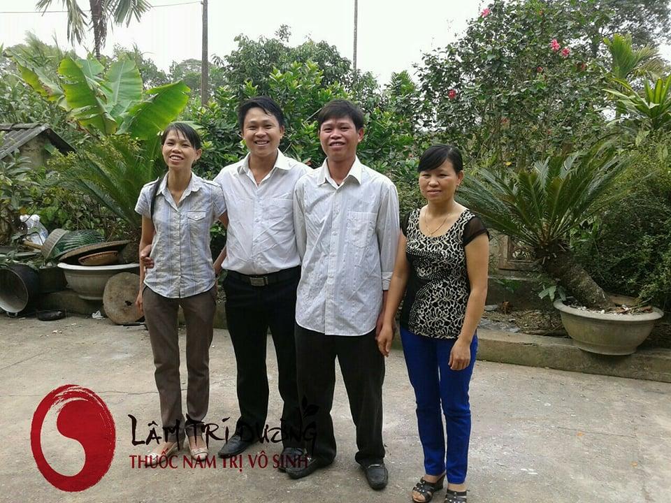 Bốn anh chị em vợ của Bùi Văn Trúc