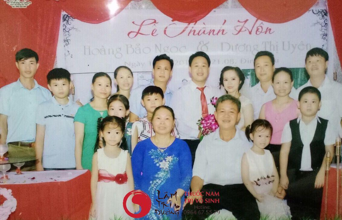 Đại gia đình vợ của Bùi Văn Trúc